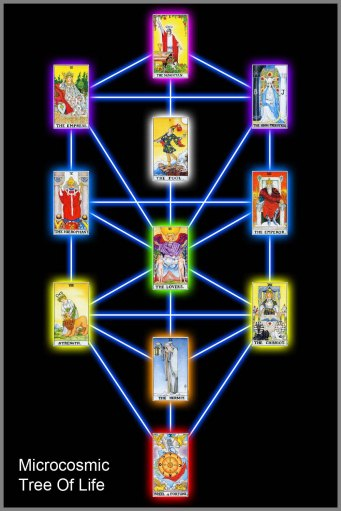 Tarot Microcosmic Tree Of Life