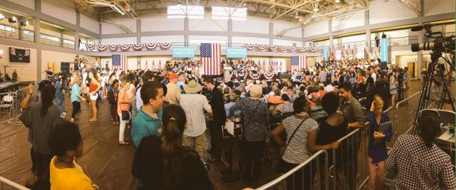 clinton-rally-greensboro-storm-chasers